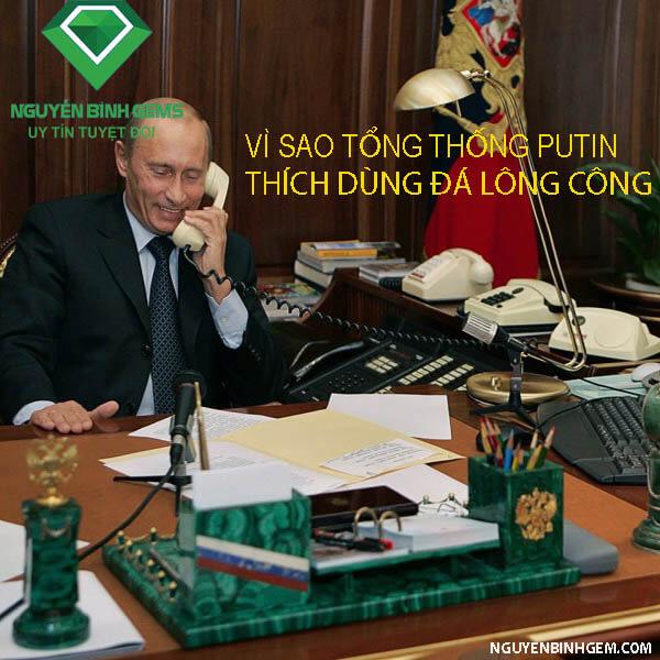tong thong putin dung da long cong